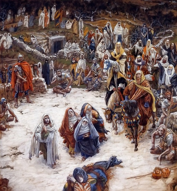 His View From The Cross by James Tissot c. 1895