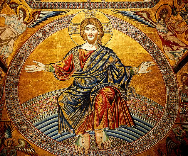 2019.07.07_Mosaic of Jesus Christ in Florence Baptistry